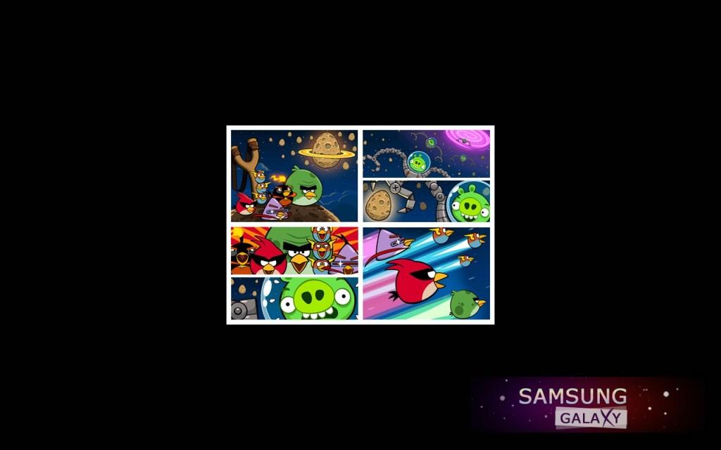 Скриншоты из игры Angry Birds Space для Андроид