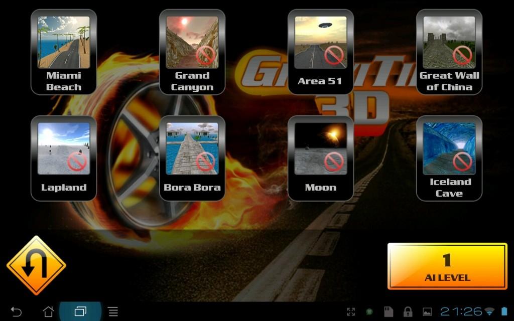 GraviTire 3D для Samsung Galaxy Note
