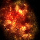 Inferno & Shadow Galaxy HD — «космические», интерактивные обои