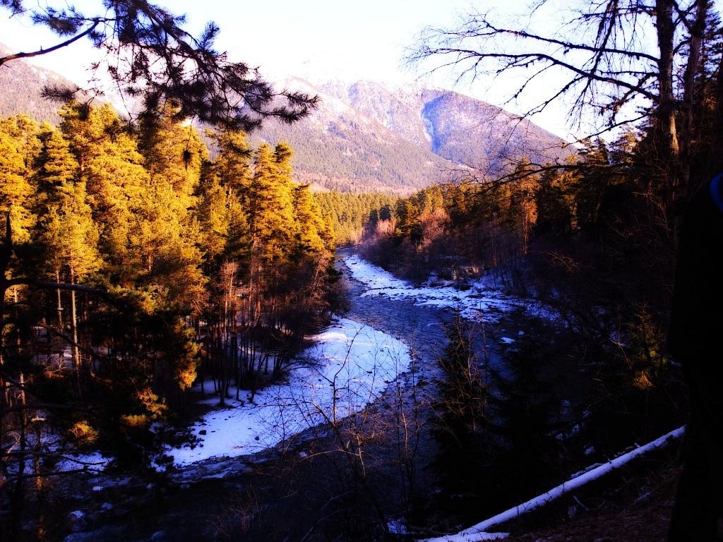 Фото с камеры Samsung Galaxy Note, Архыз, горная река Зеленчук
