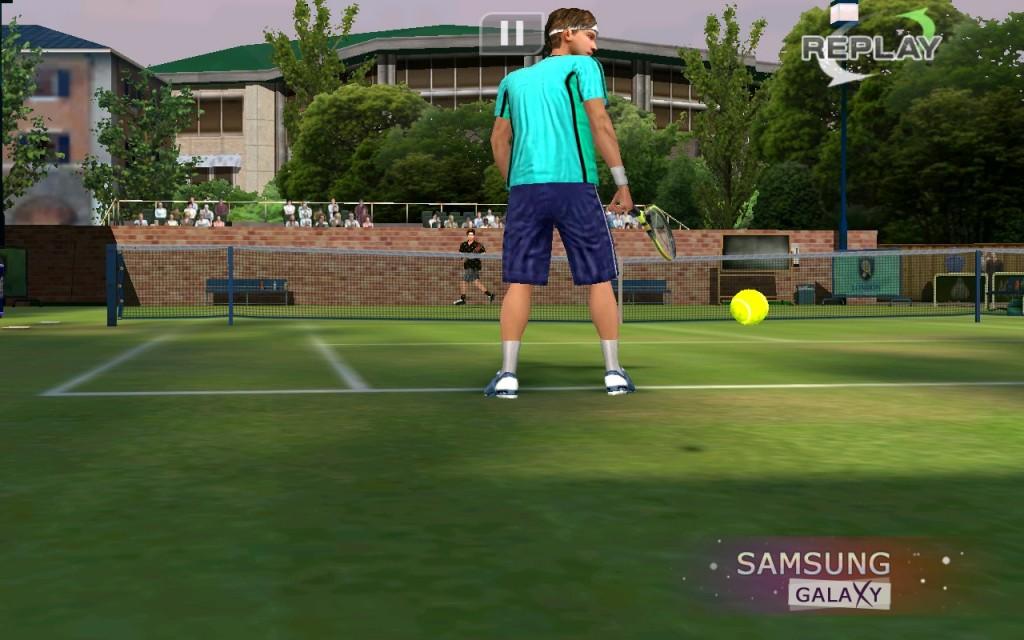 Скачать игру Настольный Теннис на Андроид