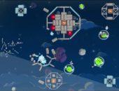 Игра Angry Birds Space на Samsung Galaxy Note
