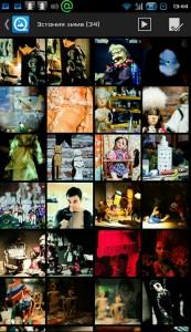 Samsung Galaxy просмотр изображений QuickPic содержимое альбома