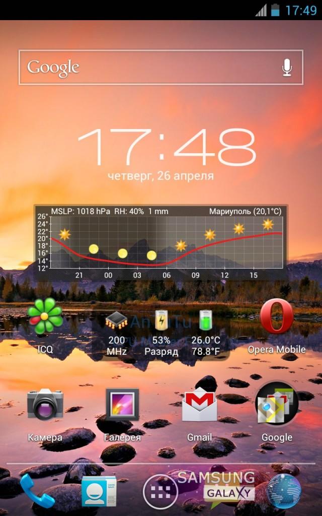 Прошивка ICS Stunner - 1.4.25 для Samsung Galaxy Note