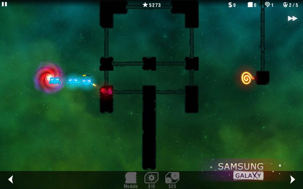 Игра Radiant Defense для Андроид, 1й уровень