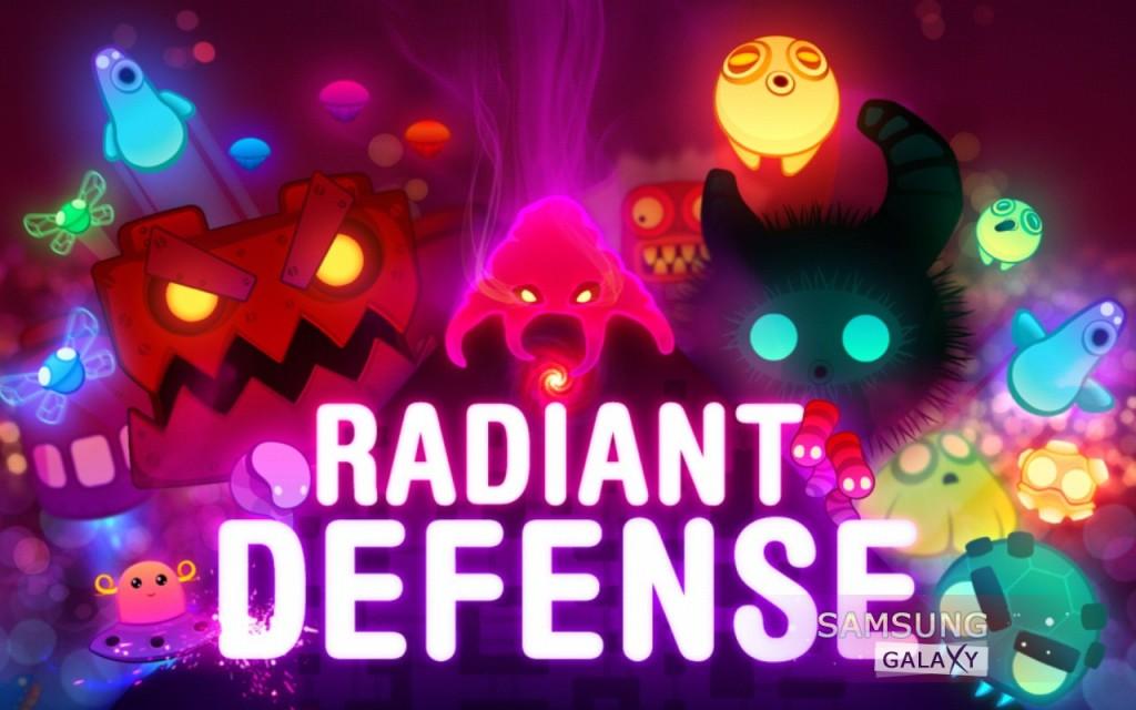 Игра Radiant Defense для Андроид, скриншот