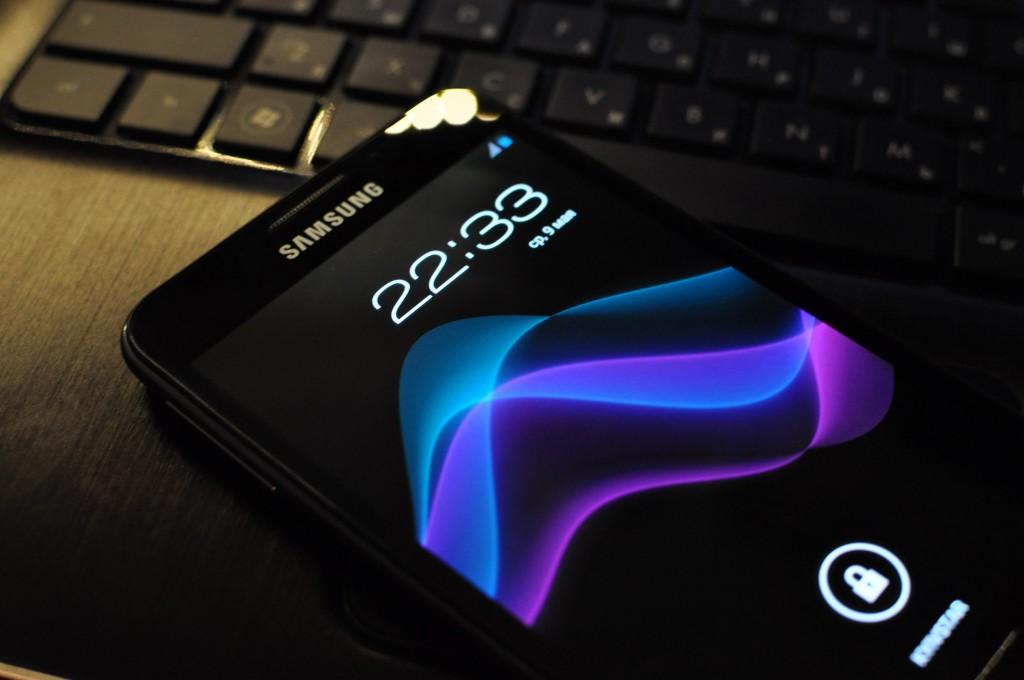Экран в режиме ожидания, Note N7000