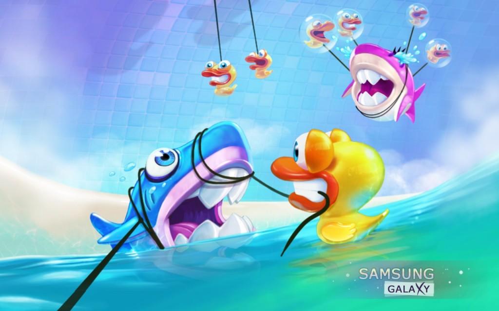 Обзор игры Shark Dash для Android
