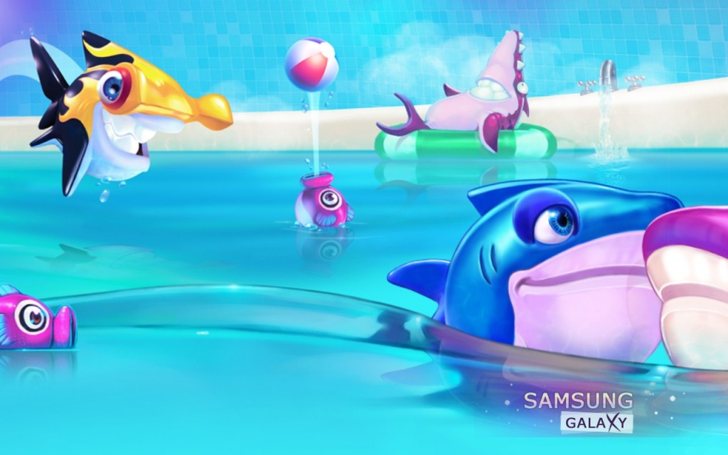 Обзор игры Shark Dash для Samsung Galaxy