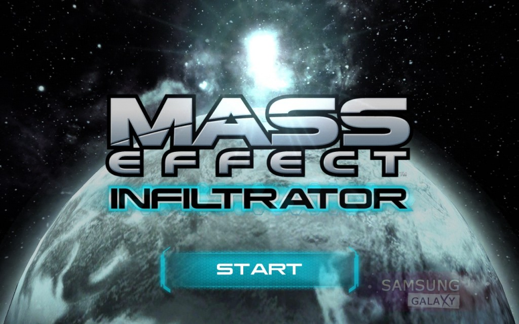MASS EFFECT INFILTRATOR для Samsung Galaxy Note
