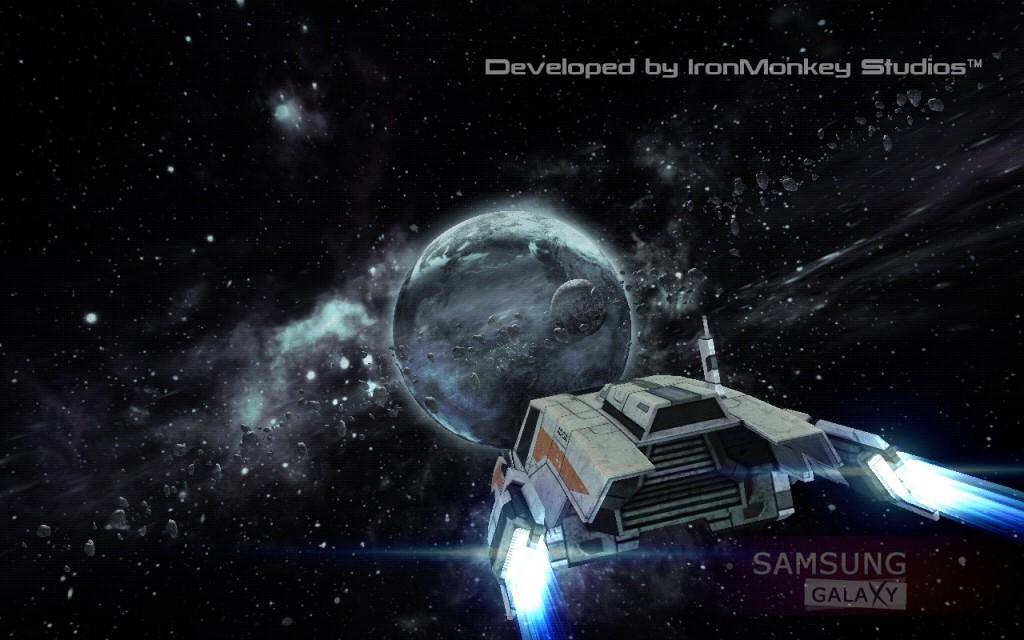 MASS EFFECT INFILTRATOR для Samsung Galaxy, графика