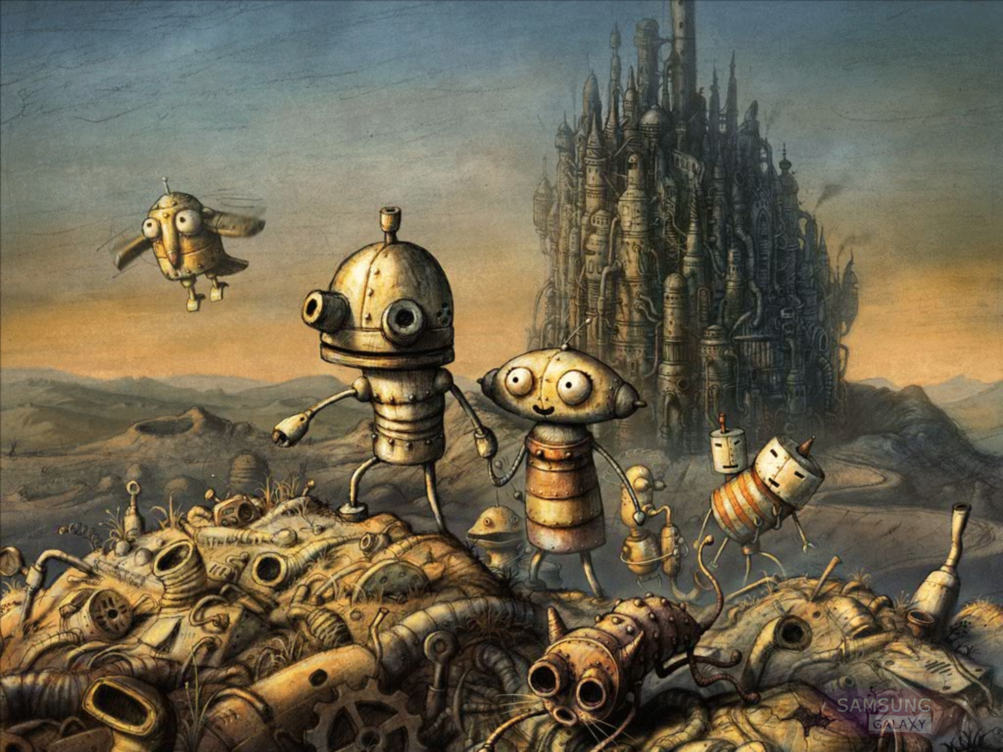 Machinarium для Android