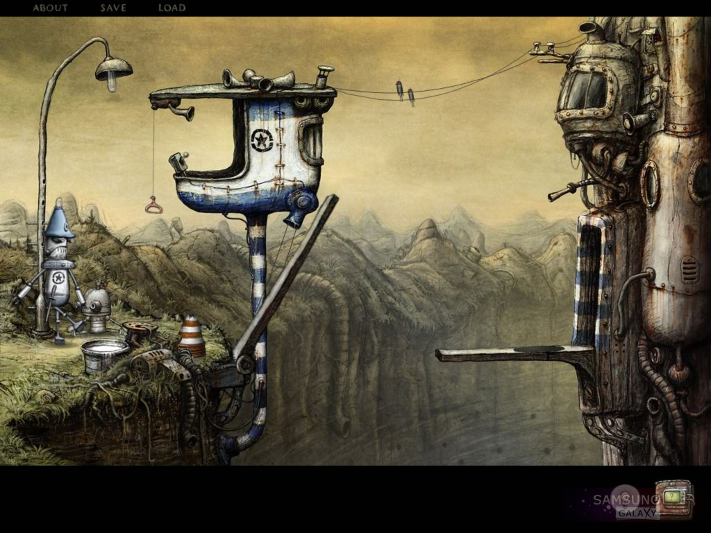 Machinarium для Samsung Galaxy Note, S III, Ace. Начало