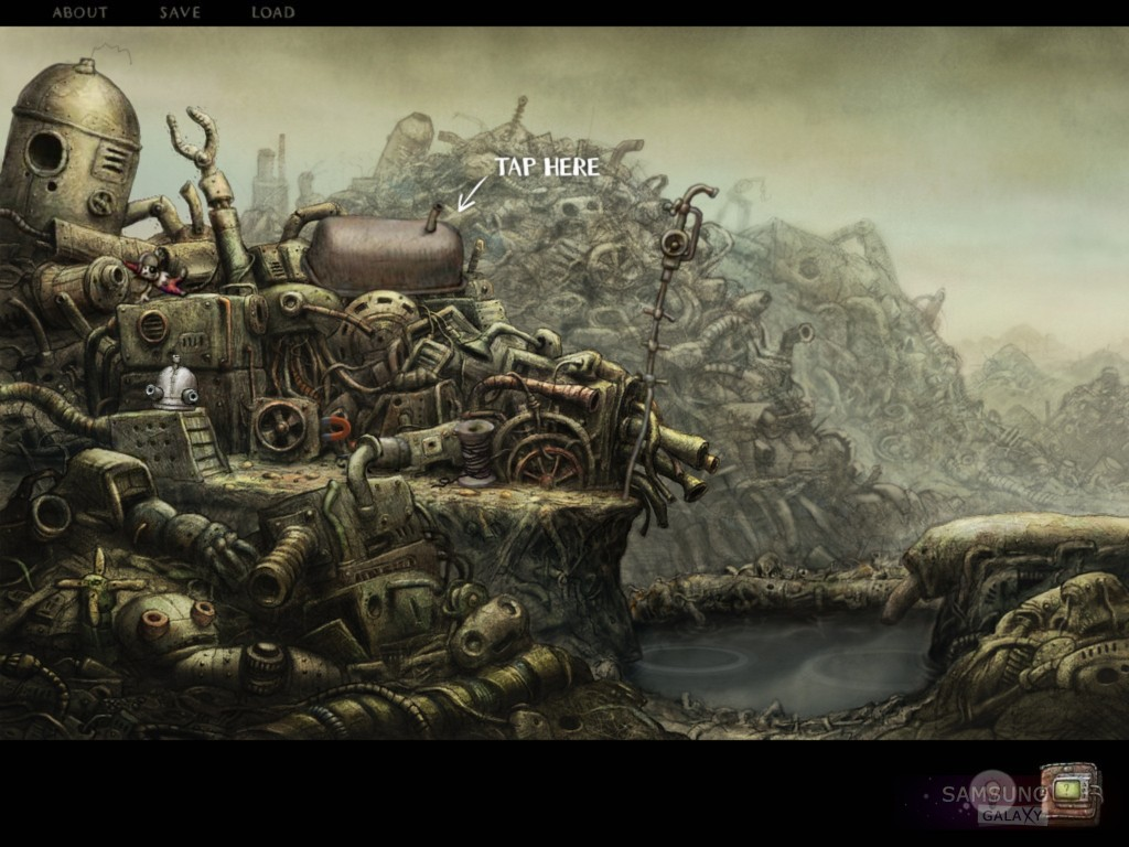 Machinarium для Samsung Galaxy Note, S III, Ace