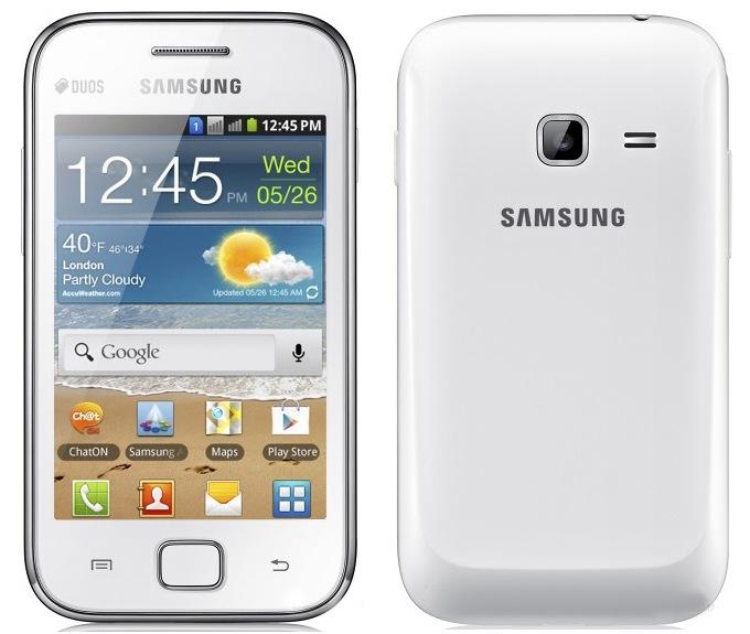 Внешний вид Samsung Galaxy Ace Duos S6802, корпус