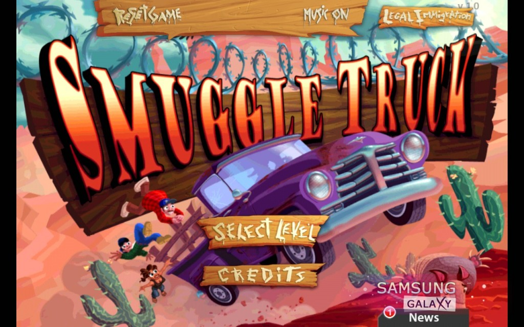 Игра Smuggle Truck для Android