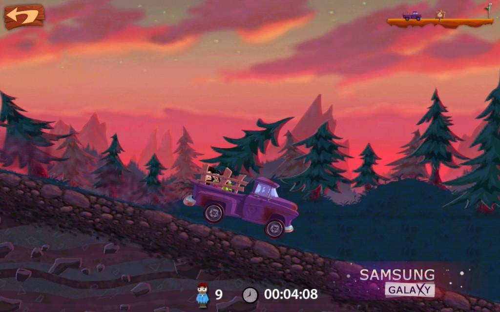 Игра Smuggle Truck на Samsung Galaxy Note