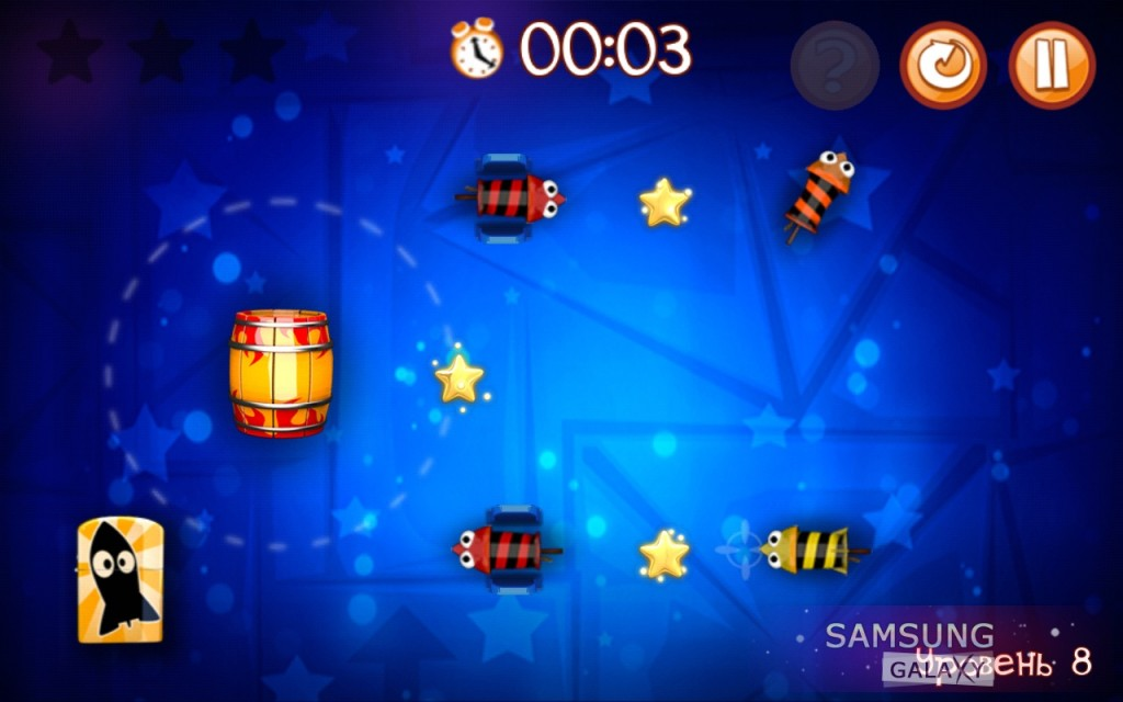 Игра Start the Rockets для Samsung Galaxy Note и Ace, головоломка