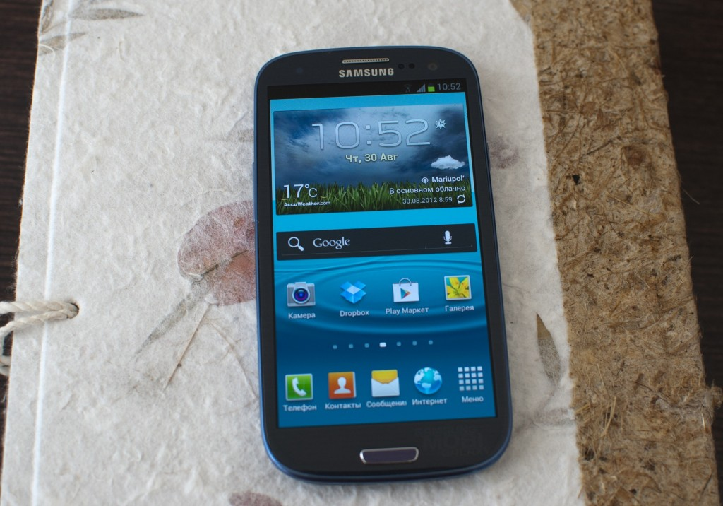 Samsung Galaxy SIII i9300 экран и передняя панель