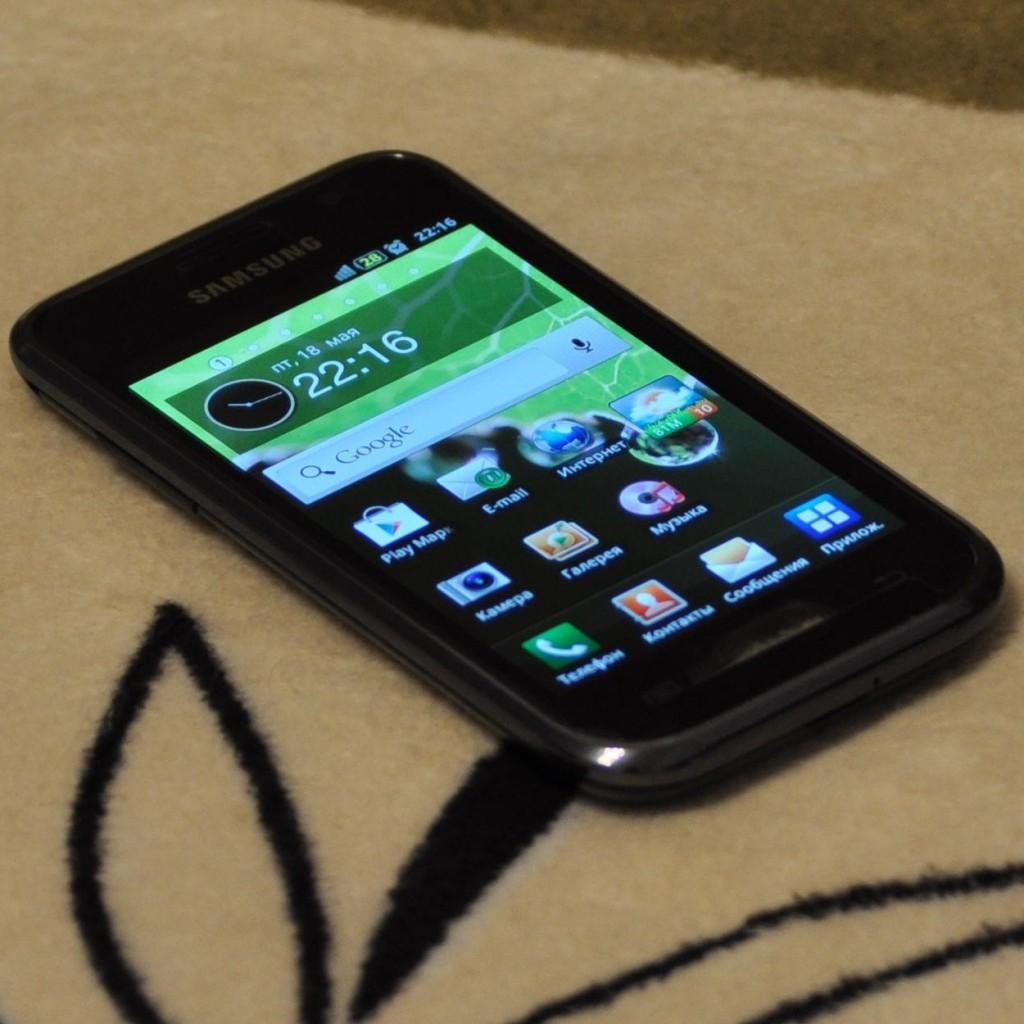 Внешний вид смартфона Samsung Galaxy S i9000