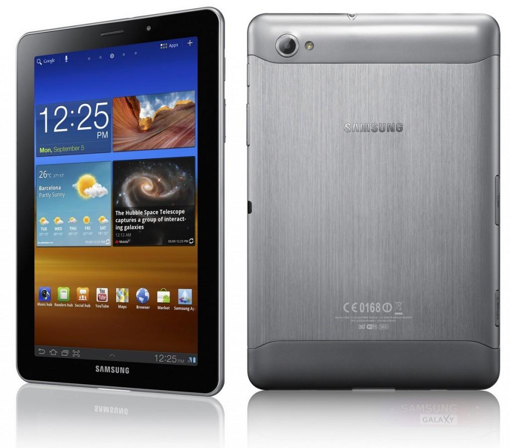 Внешний вид планшета Samsung Galaxy Tab 7.7 P6800