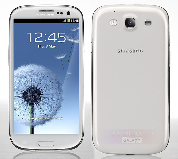 Samsung Galaxy S III белый