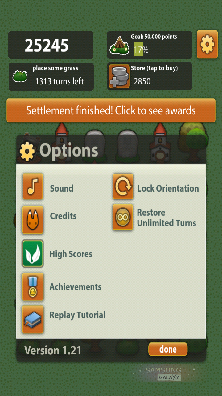Обзор стратегической игры Triple Town для Samsung Galaxy