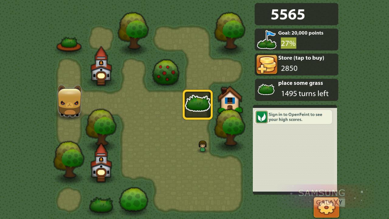 Скриншоты из стратегической игры Triple Town