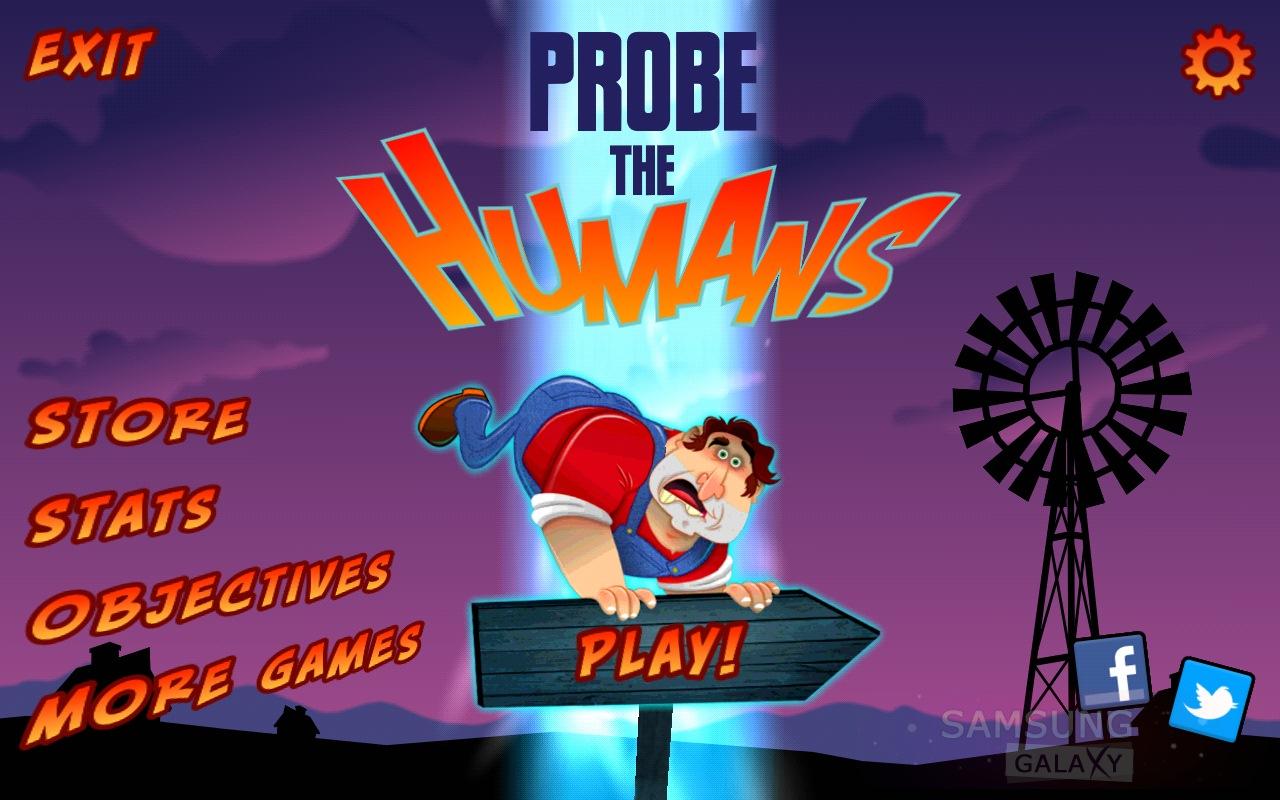 Игра Probe the Humans для Android