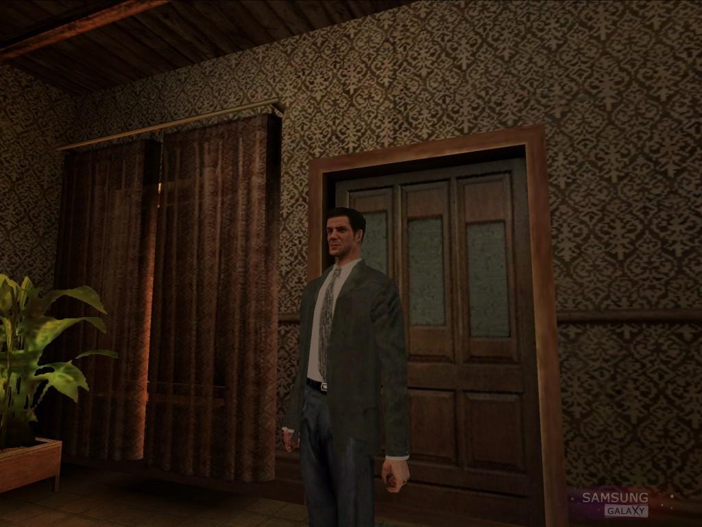 Игра Max Payne Mobile для Samsung Galaxy - Макс дома