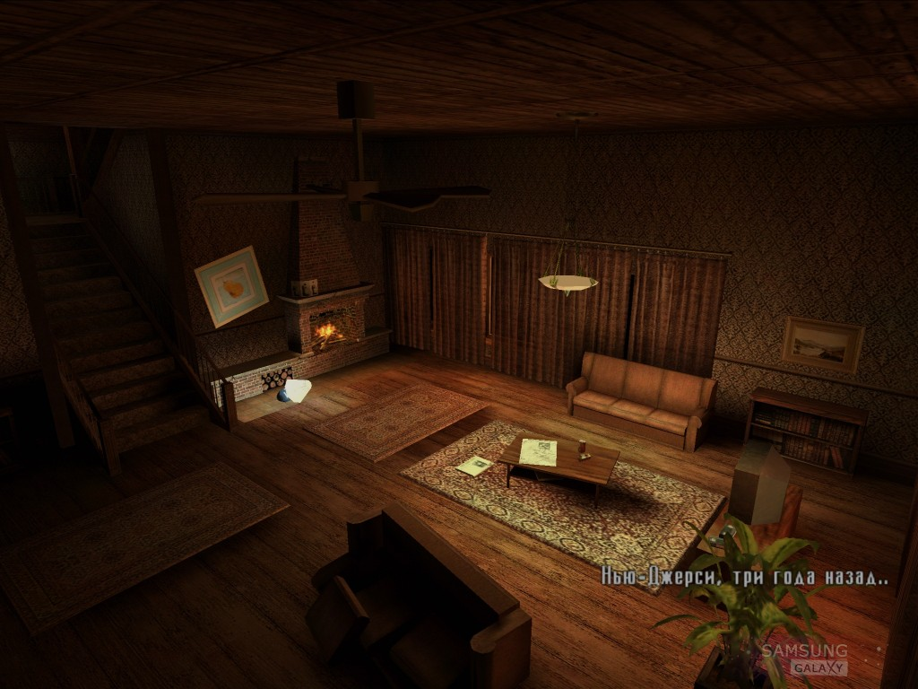 Игра Max Payne Mobile для Samsung Galaxy - скриншот геймплея