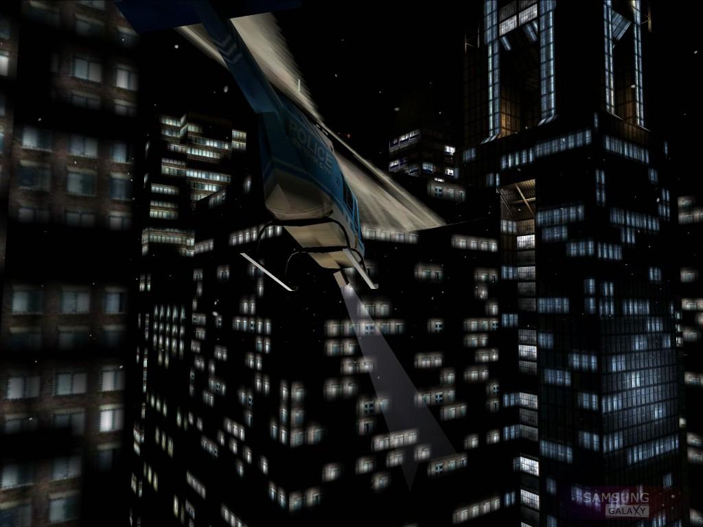 Игра Max Payne Mobile для Samsung Galaxy - ночной город