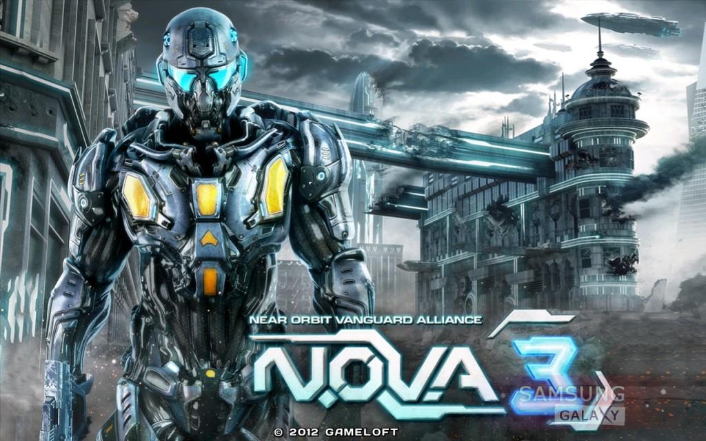 Игра N.O.V.A. 3 на Samsung Galaxy Note