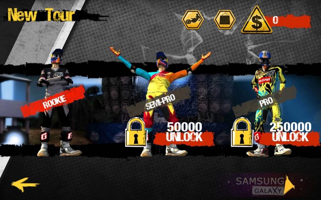 Игра RED BULL X-FIGHTERS 2012 для Samsung Galaxy