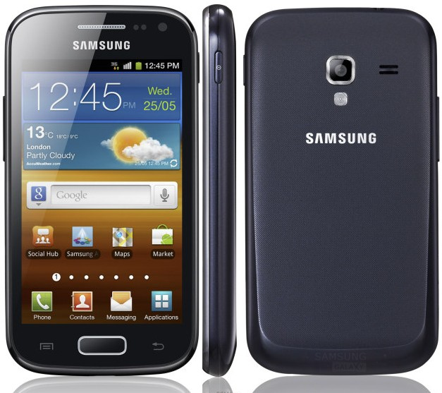 Внешний вид корпуса Samsung Galaxy Ace 2 I8160