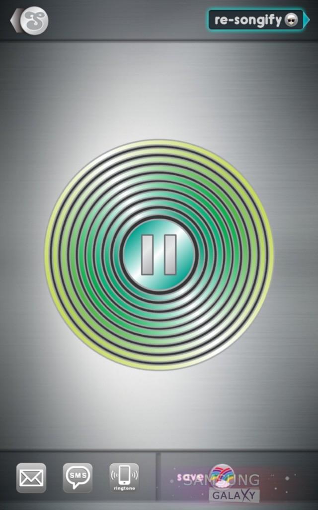 Приложение Songify для Android