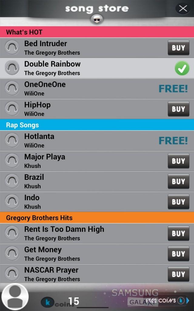 Приложение Songify обзор на Samsung Galaxy Note