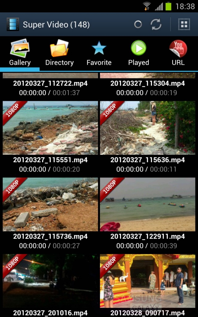 "Super Video - ""летающий"" видеоплеер как в Galaxy S III"