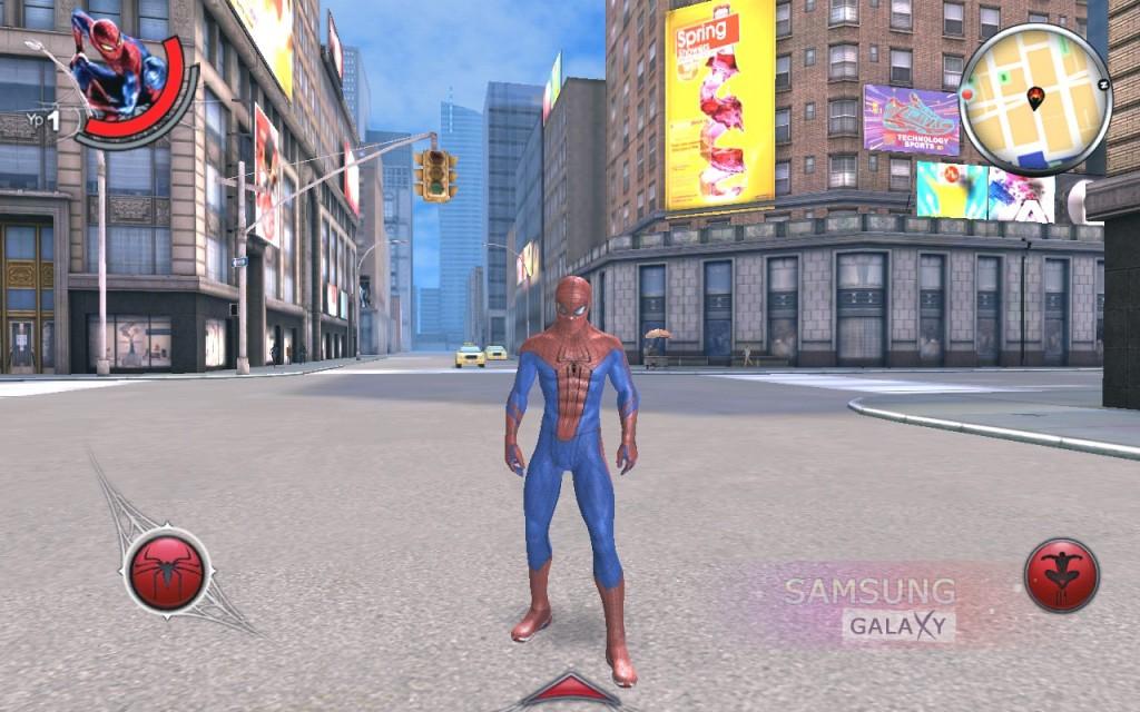 The Amazing Spider-Man - новый человек-паук для Android - графика
