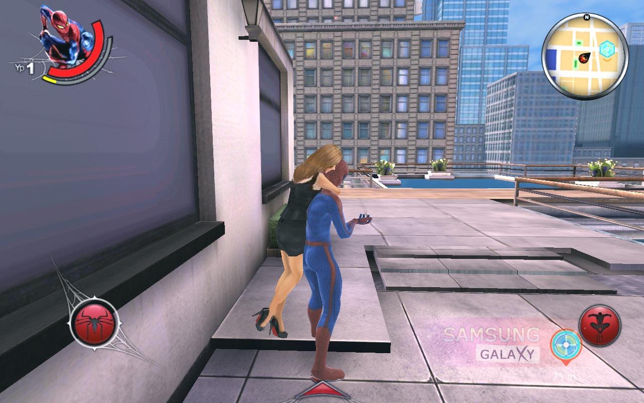 скачать на самсунг галакси мини человек паук: