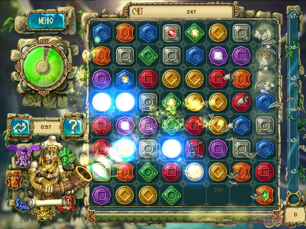 Игра Сокровища Монтесумы 3 для Samsung Galaxy Note, Ace, S III, Gio