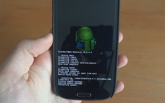 Android 4.1 Jelly Bean для Samsung Galaxy S III
