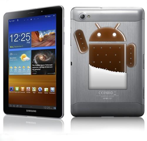 Обновление ICS 4.0 для Samsung Galaxy Tab 10.1, 8.9, 7.7 и 7.0 Plus