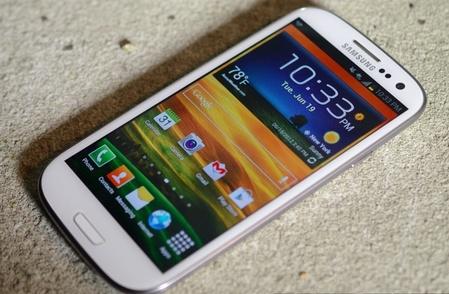 Samsung Galaxy S III получит обновление Jelly Bean
