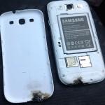 Взрыв Samsung Galaxy S III