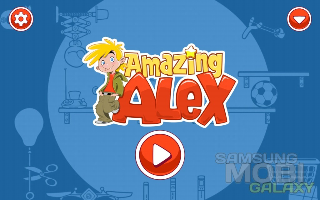 Игра Amazing Alex для Samsung Galaxy Note, Ace 2, S III и Gio