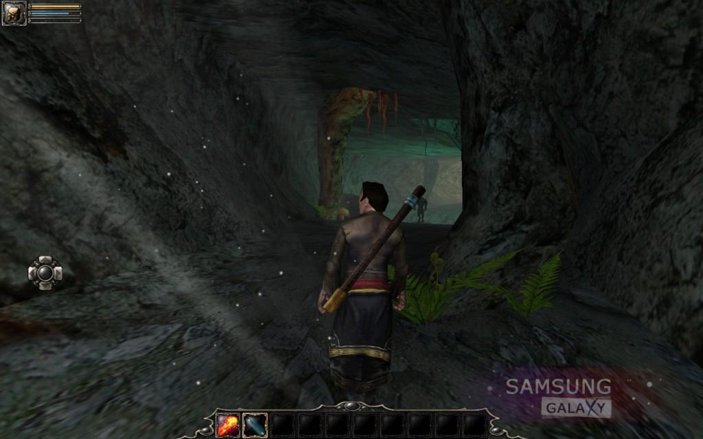 Aralon: Sword and Shadow HD - пещера