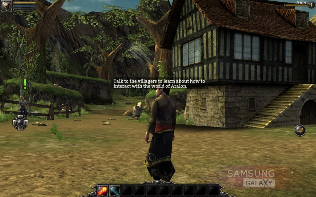 Aralon: Sword and Shadow HD - RPG для Samsung Galaxy