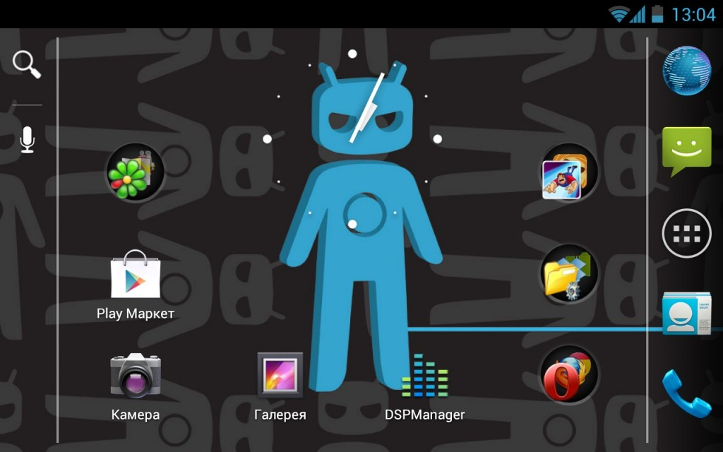 Прошивка CyanogenMod 9 для Samsung Galaxy Ace