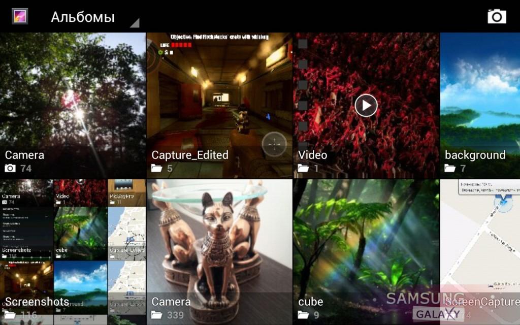 Ландшафтный режим в CyanogenMod 9 - галерея